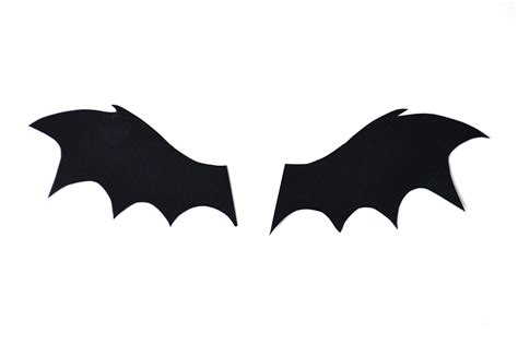bat cut out template best photos of bat wings template printable bat wing