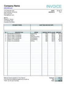 translation invoice sample doc | example good resume, Invoice examples