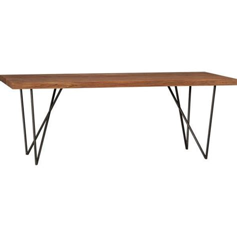dining table by cb2 999 furnishing