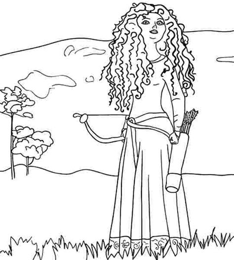 disney coloring pages merida disney princess merida coloring pages coloring pages