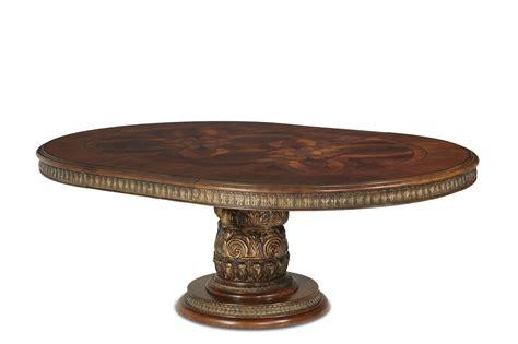 villa valencia rectangular dining table by michael amini michael amini oval dining table villa valencia