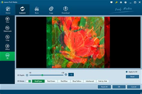 tutorial any video converter 3 best 2d to 3d converters convert 2d to 3d leawo