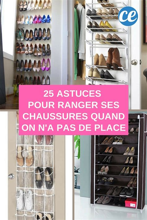 Astuces Pour Ranger Les Chaussures 25 astuces g 233 niales pour ranger ses chaussures quand on n