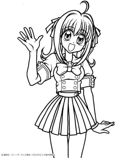 Coloring Page Human by Human Luchia Coloring Pages Hellokids