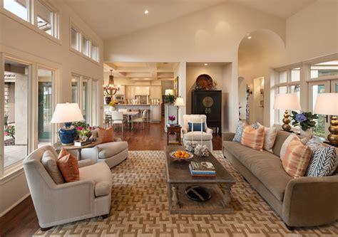 california contemporary ranch contemporary living room