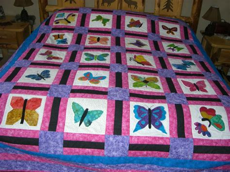 Size Of Quilt Finished by King Size Butterfly Quilt Finished