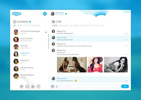 Find On Skype To Chat With Skype Gursky Design Freelance Visual Designer Diehard Ui Ux Mobile