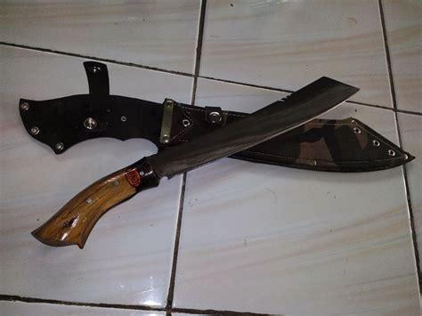 Golok Sembelih Baja Per Tajam Murah 3 pabrik pedang katana samurai senjata silat