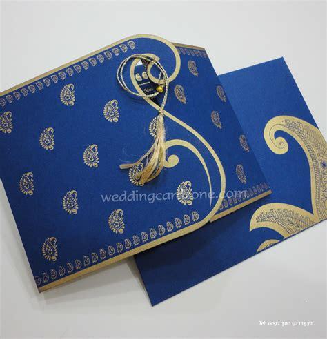 wedding invitation cards designs in hyderabad card code h 75 blue wedding card zone