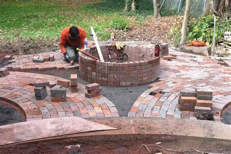 firepit bricks brick pit ideas that you already knew pit
