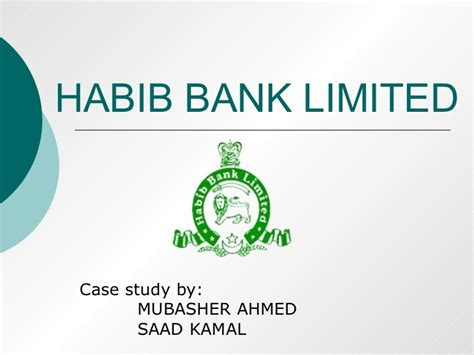habib bank limited pakistan hbl study