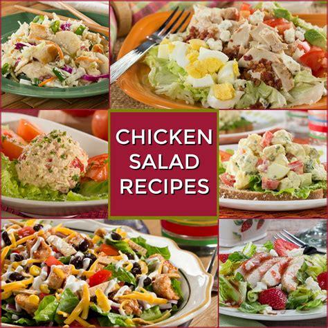healthy salad recipes healthy chicken salad recipes everydaydiabeticrecipes