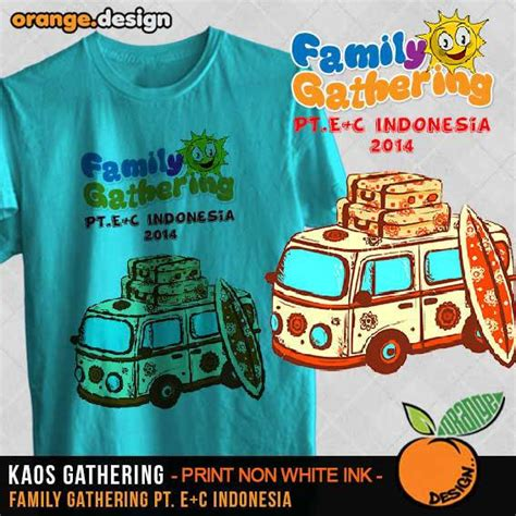 contoh design baju family gathering desain kaos family gathering untuk acara outing atau