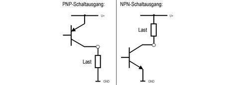 transistor npn anschluss anschluss pnp und npn transistorschaltausgang bei druckschaltern wika