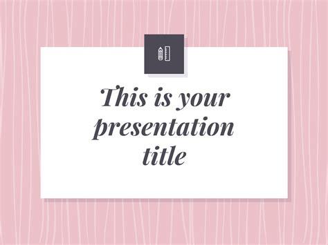 Feminine Google Slides Themes | free presentation template elegant and feminine