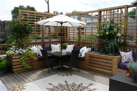 rankgitter als sichtschutz balkon sichtschutz aus holz 50 ideen f 252 r balkongestaltung