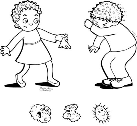 preschool germ coloring pages all worksheets 187 germs worksheets for kindergarten