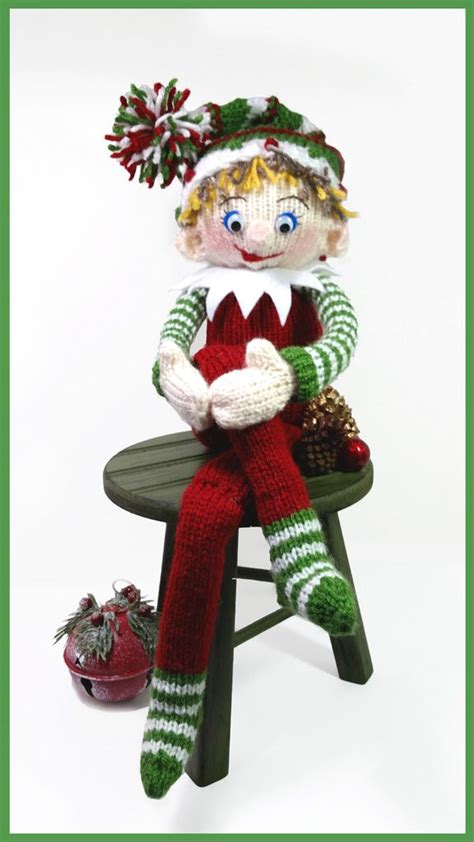 pattern for a christmas elf shelby the shelf elf free tutorial a loom knitter s