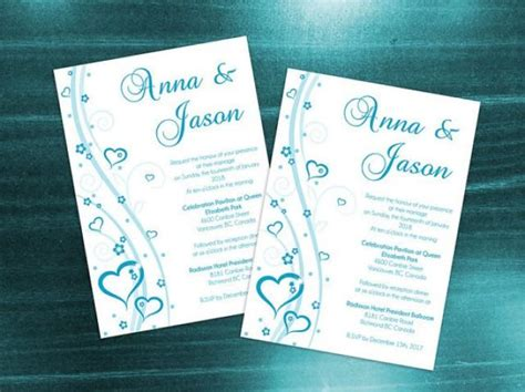 diy wedding cards template diy printable wedding invitation card template 2371997