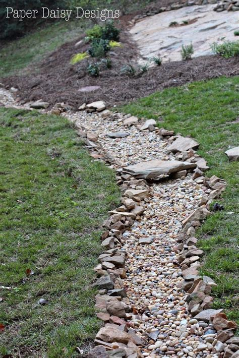 dry creek bed for drainage a dry creek bed for beauty and drainage