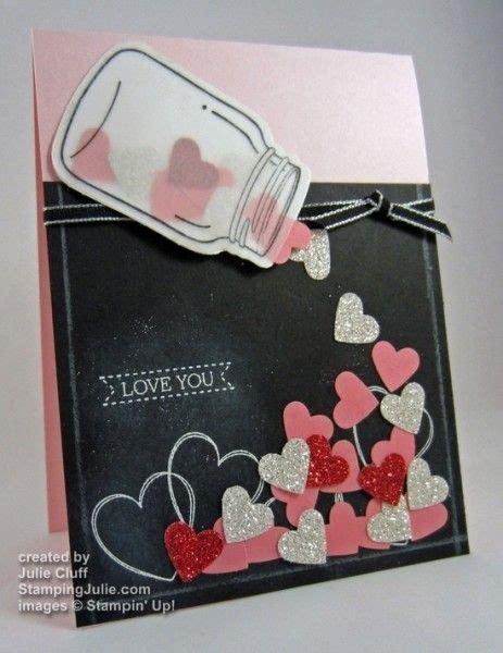 tutorial gitar jar of heart jar of hearts a flutter valentine card w tutorial on quot how