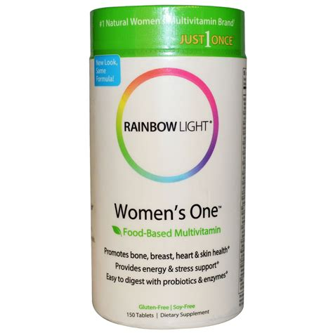 rainbow light women s one multivitamin rainbow light just once women s one food based