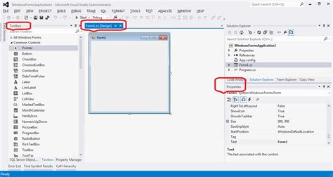 visual studio form design disappeared visual studio creating a project code steps