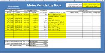 motor vehicle log book template log book method atotaxrates info