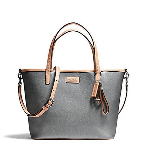 Coach Metro Park Tote coach f25663 park metro leather small tote silver pewter coach handbags