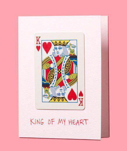 king of hearts card template 14 tarjetas de san valent 237 n hechas con manualidades