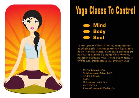templates for yoga 20 distinctive yoga flyer templates free for professionals