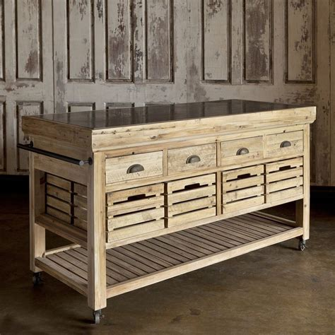 marble top crate kitchen island natural wood stain ideas 396 best images about kingston atelier on pinterest