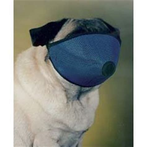 muzzles for pugs mesh muzzle for nose flat faced dogs pug muzzle one size fits all