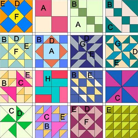 Easy Quilt Block Patterns Free by Simple Quilt Block Patterns Quilts Tutorials