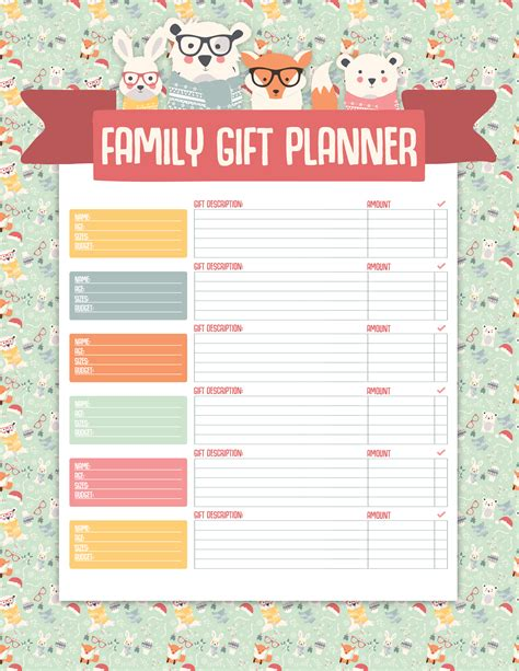 printable holiday meal planner free printable christmas planner the cottage market