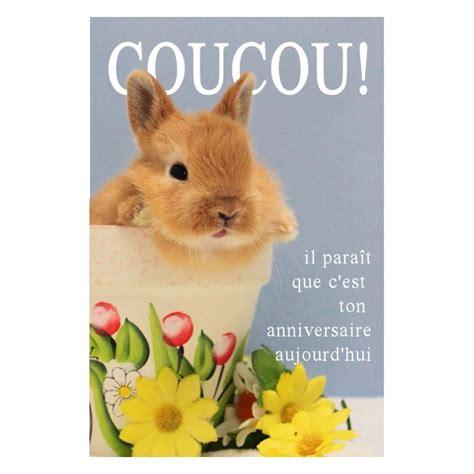 Carte De Souhaits Coucou Lapin En Carton Avec Enveloppe Pour La Fete Des Meres Pour Un Anniversaire Pour Les Vacances L