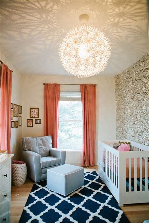 Modern Nursery Room With Lighting Nursery Lights