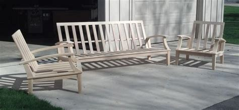 cypress patio furniture made cypress patio furniture by glessboards custommade