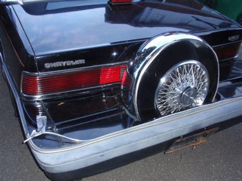 automobile air conditioning repair 1993 chrysler lebaron interior lighting 1986 chrysler lebaron convertible original 1 owner car 37k miles 50 for sale in medford