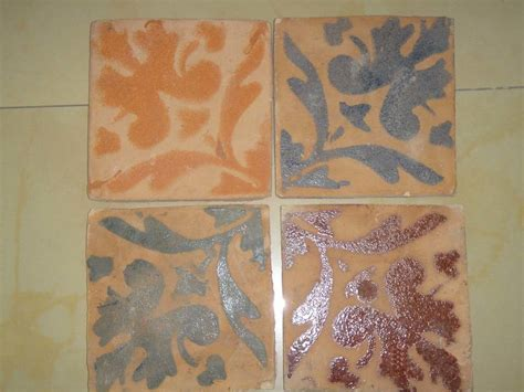 Handmade Terracotta Tiles - china rustic handmade terracotta tile printed china