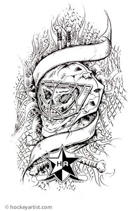 goalie tattoo designs 51 best images about hockey tattoos on wing