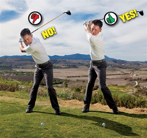level shoulder turn golf swing increase your smash factor golf tips magazine