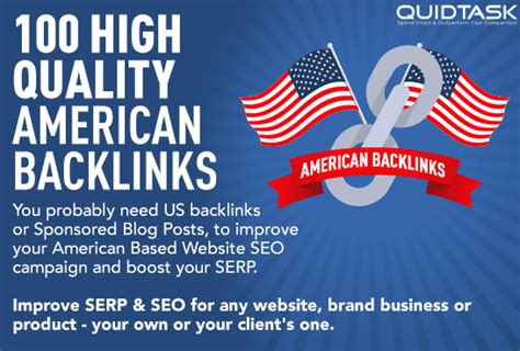 An American Sponsored 100 American Backlinks With Sponsored Posts From Unique Websites For Each State For 1 Seoclerks
