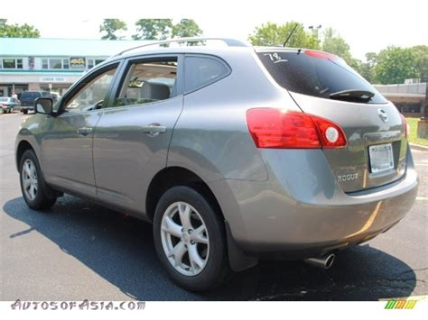 silver nissan rogue 2009 2009 nissan rogue sl awd in silver photo 3 179413