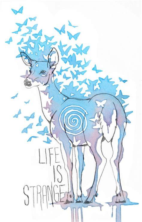 life is strange watercolor doe by wildernessspirits on