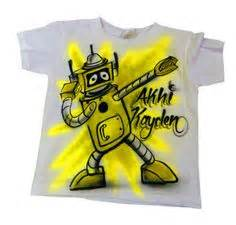 Kaos T Shirt Scooby Doo Paint airbrush minnie mouse personalized t shirt airbrush