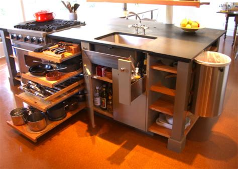 space saving kitchen islands 10 big space saving ideas for small kitchens
