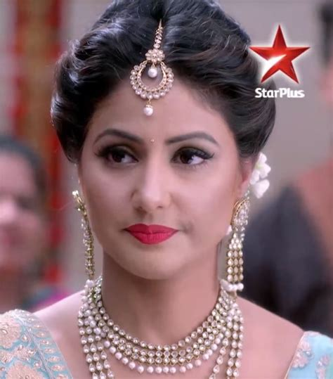 akshara hair stule 17 best hina khan images on pinterest bridal hairstyles