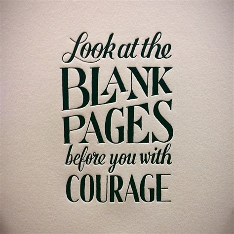 bare bravery how to be creatively courageous books look at the blank pages before you with courage amwriting