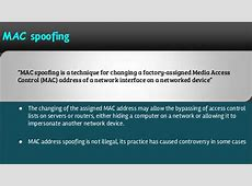 Spoofing attack: Learn about Email spoofing, IP address ... Mac Spoofing